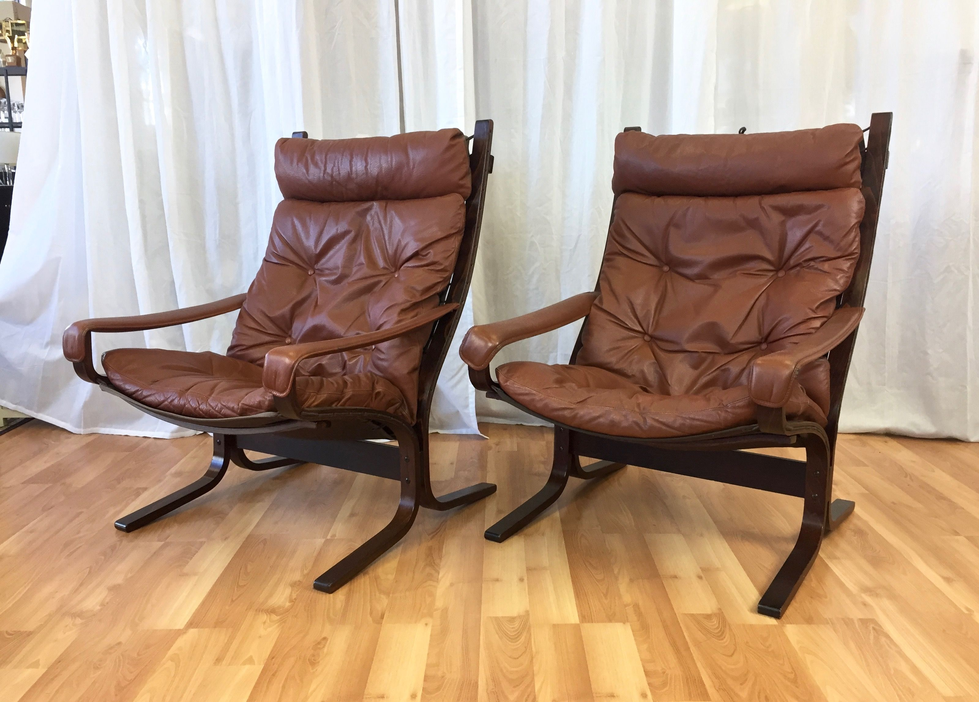 Siesta Sessel Siesta Lounge Chairs By Ingmar Relling For Westnofa Sold