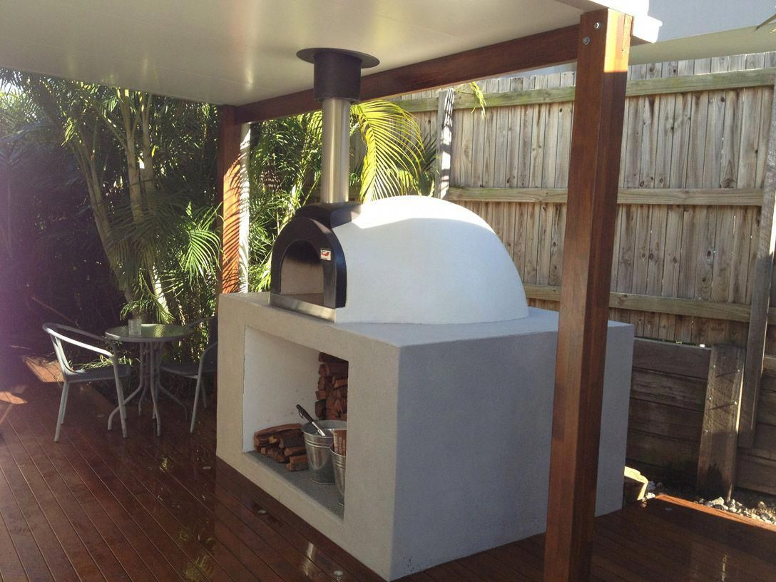 alfresco kitchens woodfired pizza ovens qld allfresco enterprise pizza oven outdoor on outdoor kitchen queensland id=34893