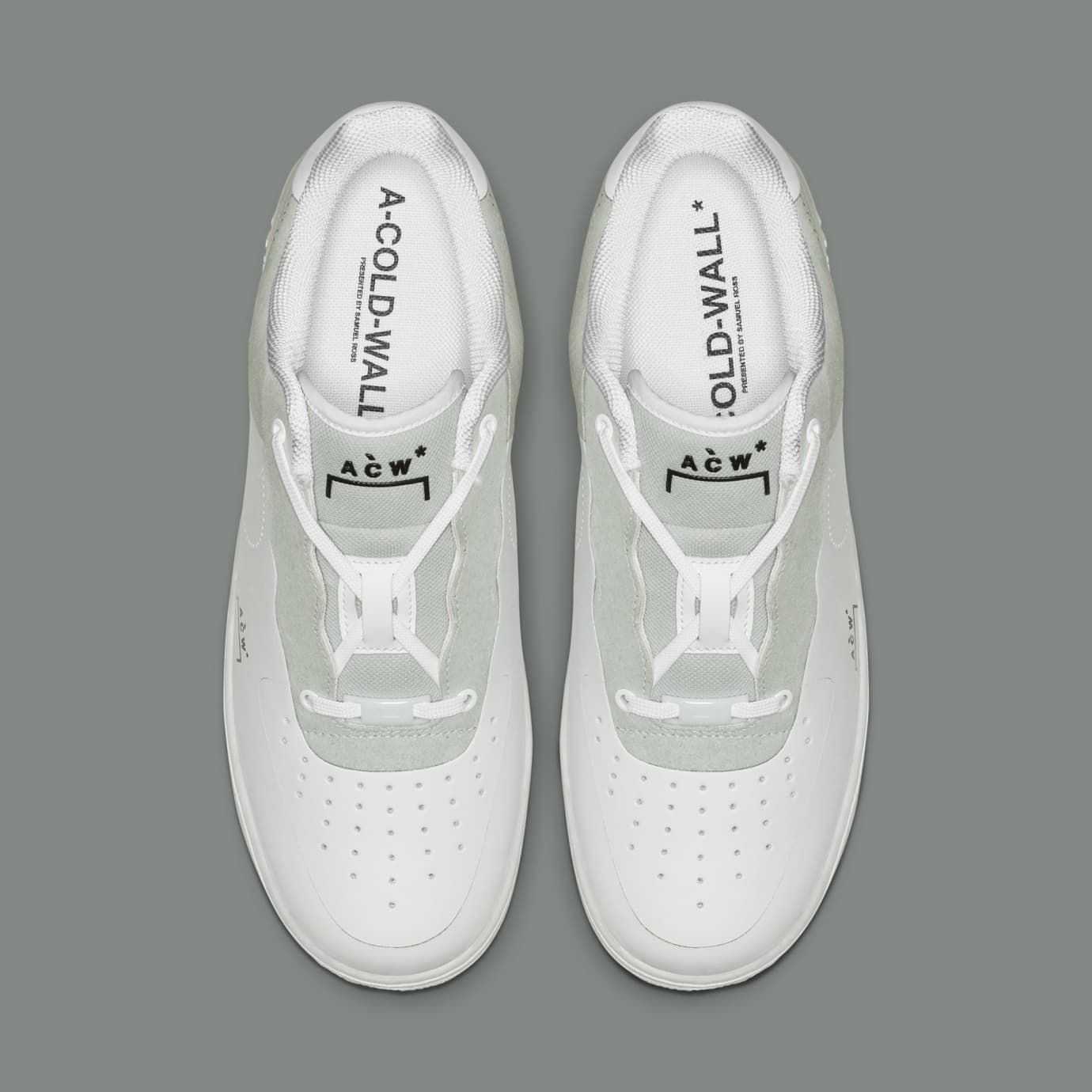 483c8465b5e0 A-Cold-Wall  x Nike Air Force 1 Low  White Light Grey-Black  BQ6924 ...