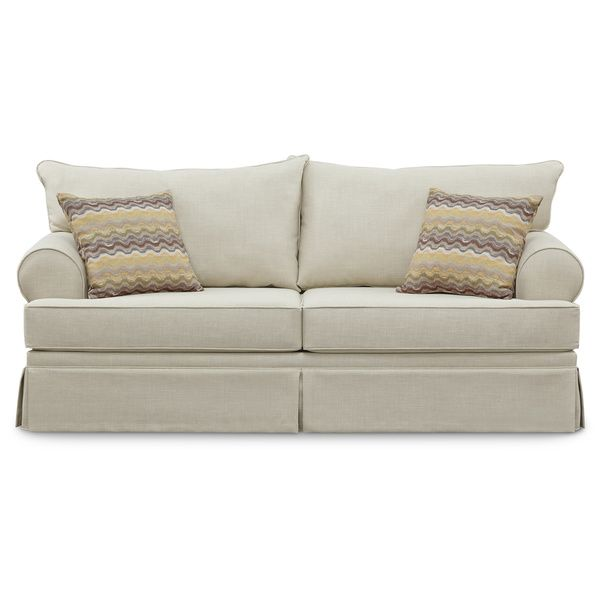 Art Van Olympia Natural Sofa Overstock Shopping Great Deals On
