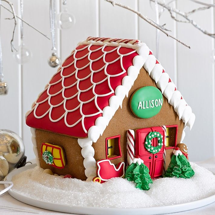 Gingerbread House From Williams Sonoma