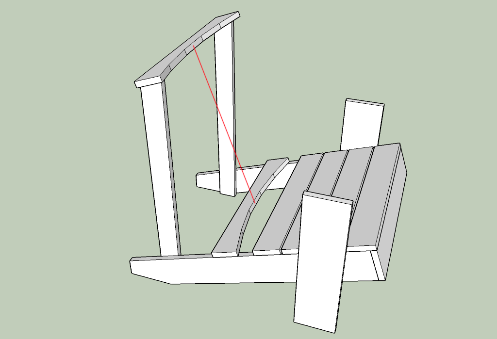 Plans And Instructions For Building Your Own Version Of The Giant Adirondack  Chair.