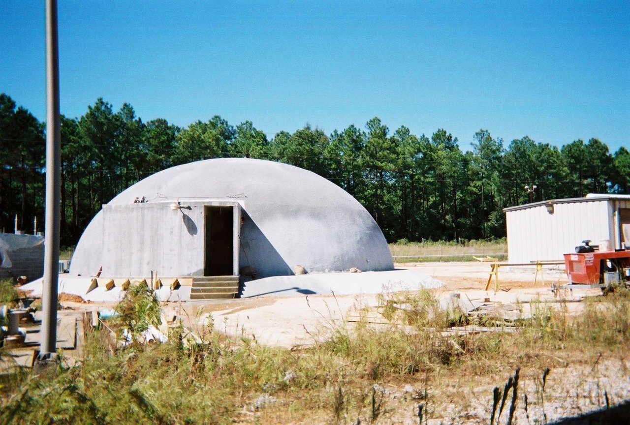 Monolithic dome homes Mold Termite Tornado and