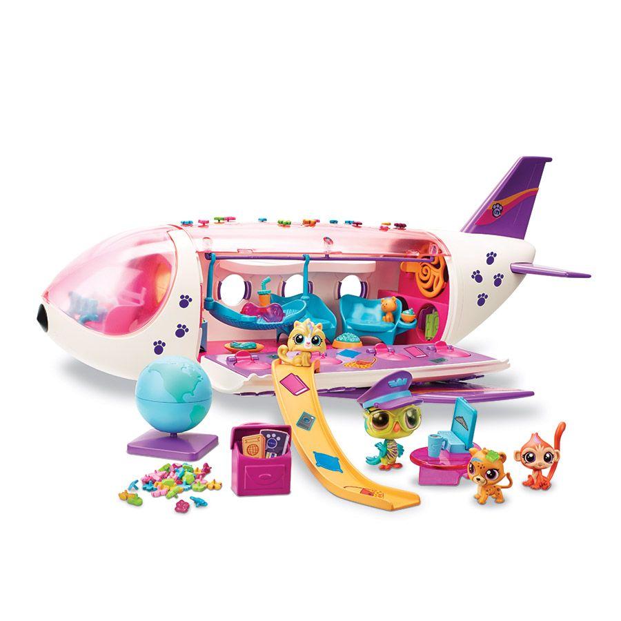 Littlest Pet Shop Pet Jet Playset Toysrus Babiesrus Australia In 2020 Littlest Pet Shop Pet Shop Lps Toys