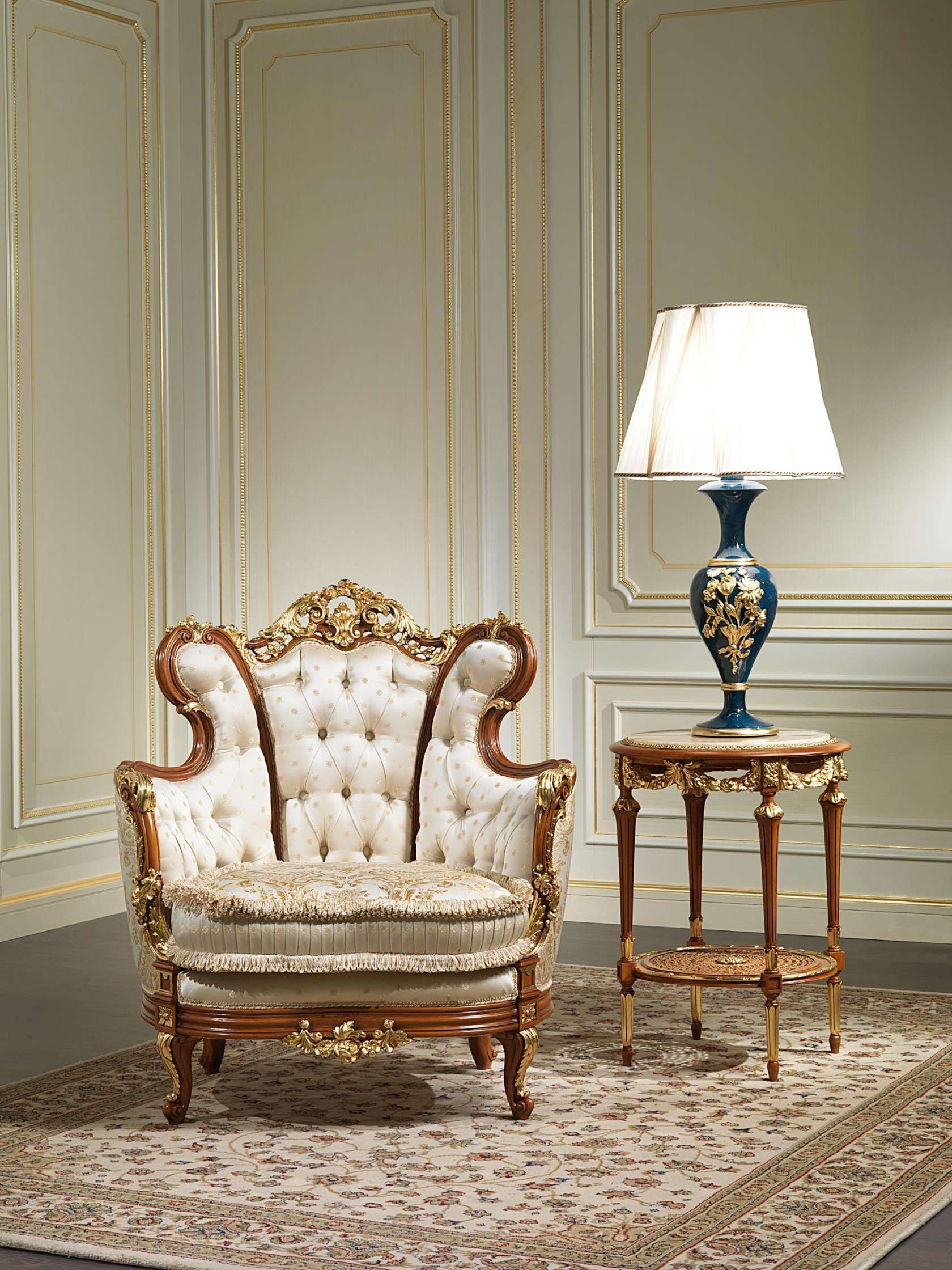Stylized Victorian Style Sofa Sets