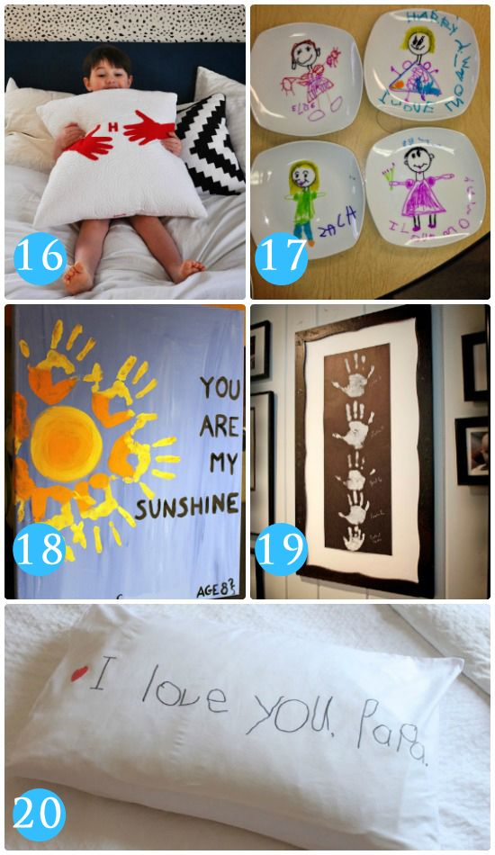 Homemade Gifts for Grandparents - 101 Grandparents Day Ideas - From Ideas Homemade Gifts