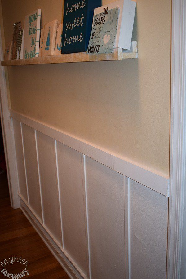 Diy Hallway Wall Decor : How to add board and batten any wall
