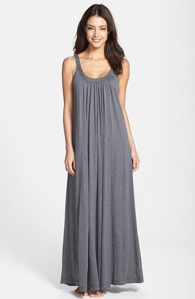 bf53cd3015a48a Donna Karan Pima Cotton Jersey Nightgown available at  Nordstrom ...