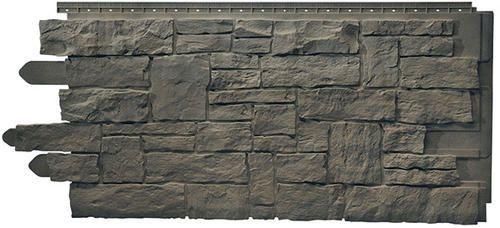 Novik 174 Stacked Stone Polymer Siding Panel At Menards