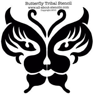 airbrush tattoo stencil | Airbrush Tattoo Stencils, Tribal Stencils ...