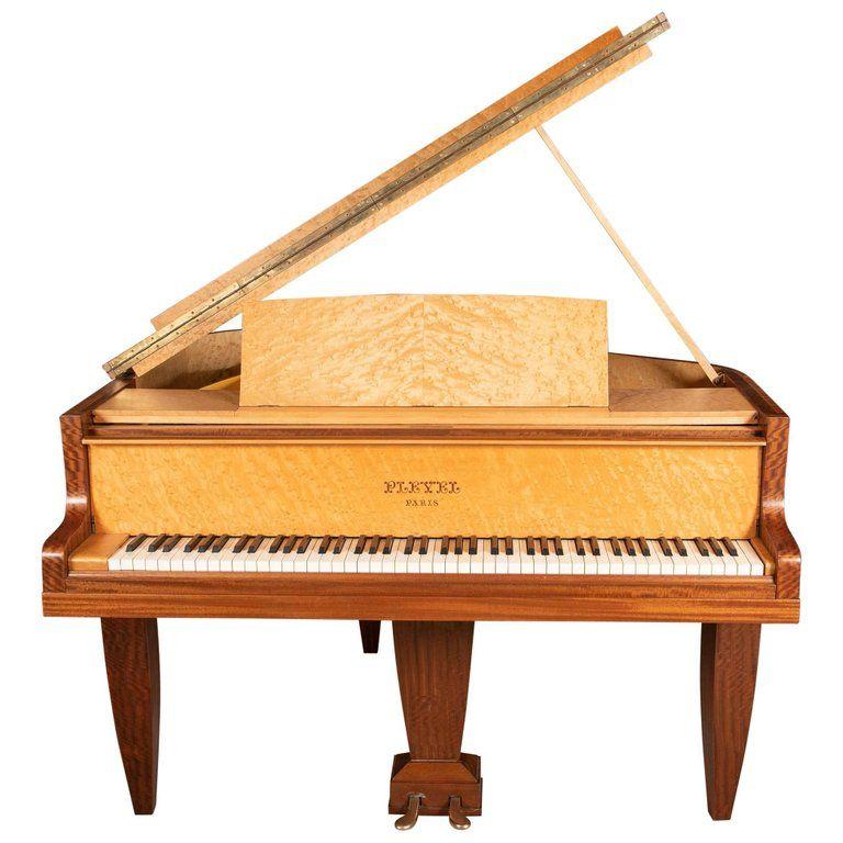 Pleyel Art Deco Baby Grand Piano 197175 Circa 1939 Baby Grand Pianos Piano Art Deco