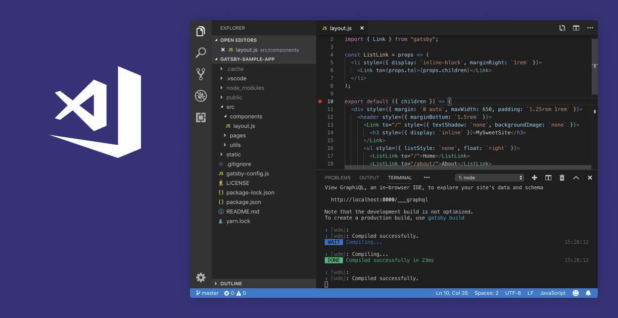 Visual Studio Code is a code editor redefined and optimized