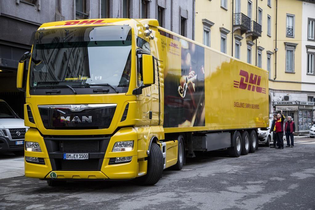 DPDHL News on Big trucks, Trucks, Big rig trucks