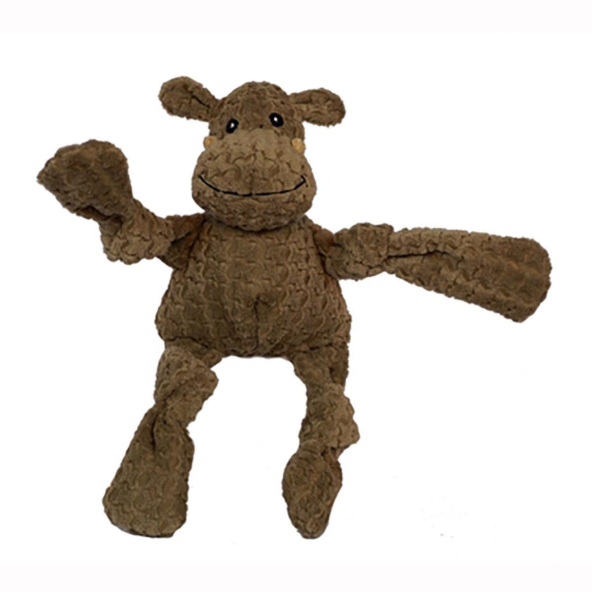 Hugglehounds Knotties Dog Toy Hippo Soft Toy Dog Dog Toys