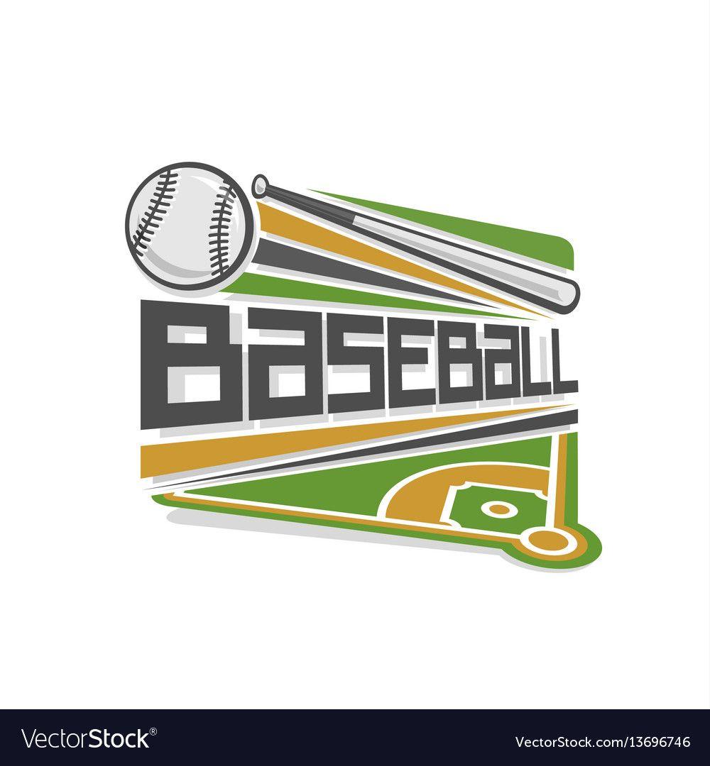 Download Baseball logo vector image on VectorStock   Vector free ...