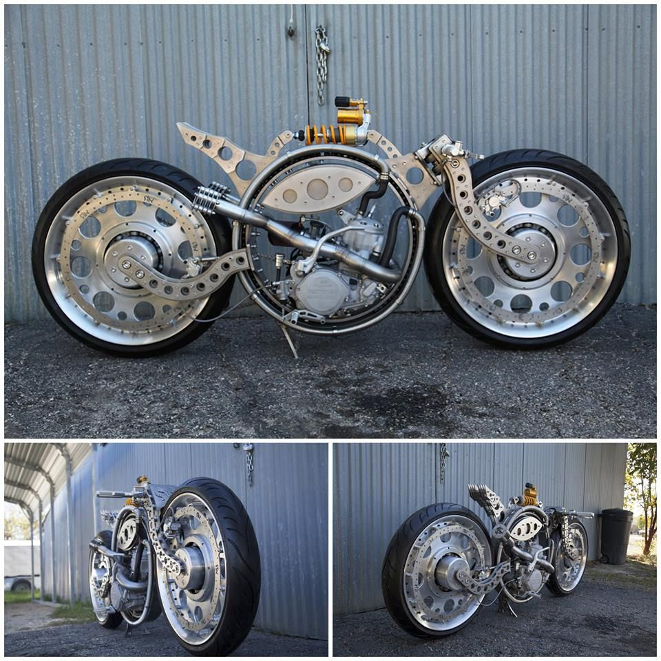 Motorcycle Steampunk Concept Art