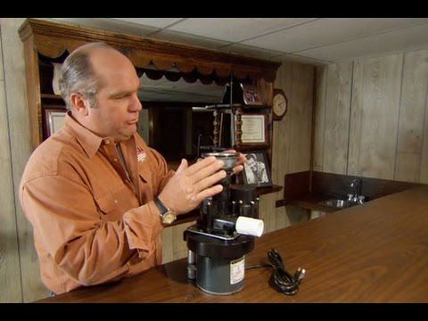 How To Install A Drain Pump For A Basement Sink This Old House Youtube Drain Pump Sink Basement