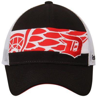Detroit Red Wings Reebok 2016 Stadium Series Player Meshback Trucker Adjustable Hat - Black