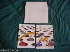'The BEATLES 1988 YELLOW SUBMARINE Greeting Card from Paper Moon