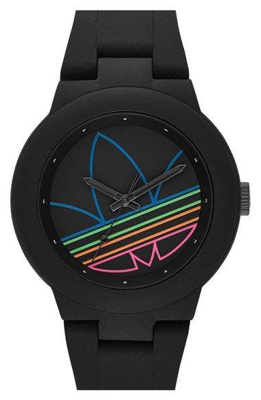 adidas Originals 'Aberdeen' Sports Watch, 41mm | Nordstrom