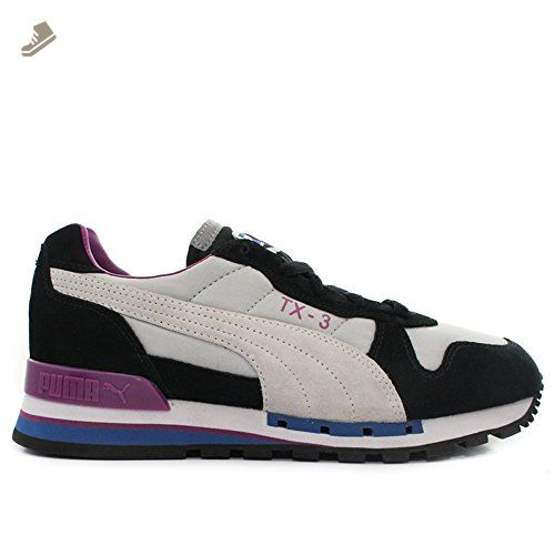 Puma TX-3 Nylon Womens Running sneakers / Shoes - Black & Grey - SIZE