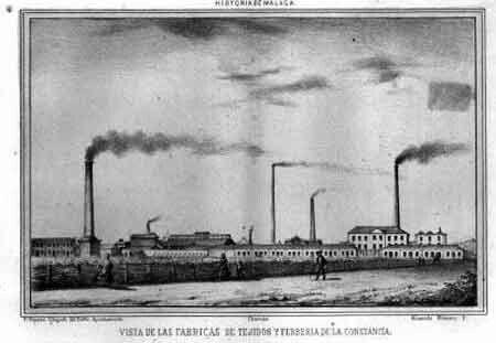 A partir de 1834 la industria siderurgica de Manuel Agustín Heredia, la  Constancia, entra en una fase de gran actividad, y este sector en Málaga  las llevaría a …