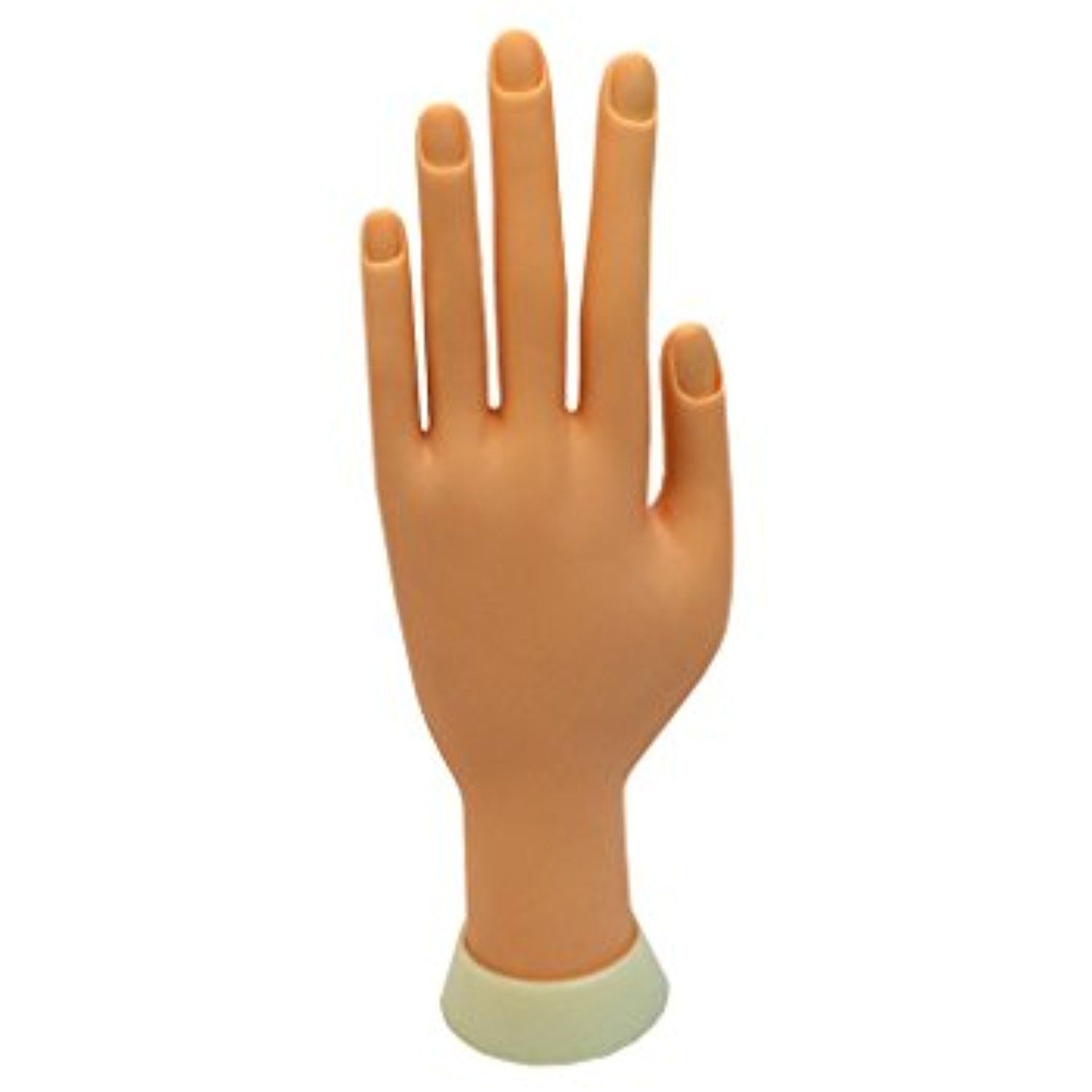 Beauticom® Practice Flexible Manicure Mannequin Hand Nail Display ...
