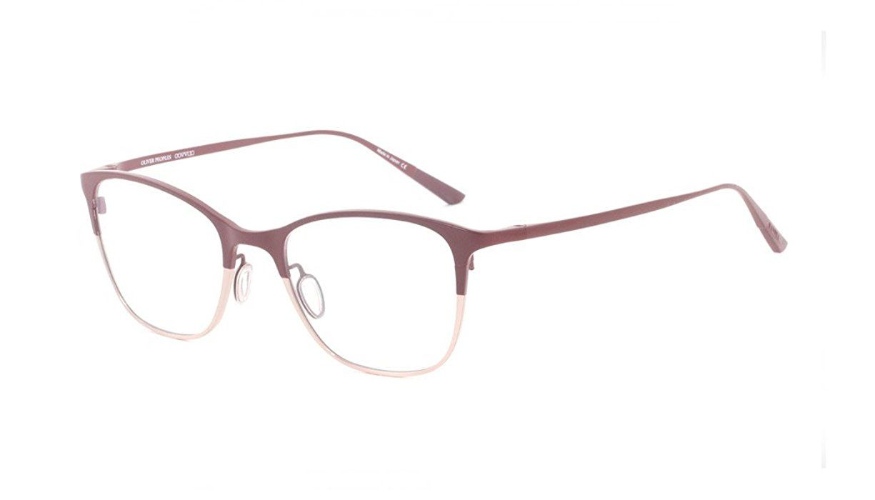 Amazon.com: Oliver Peoples Rx Eyeglasses Frames Abbe 1153T 5202 ...