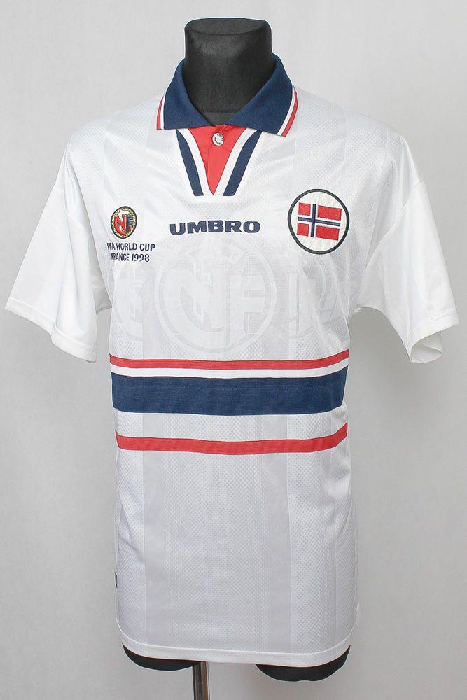 UMBRO NORWAY FIFA WORLD CUP 1998 SHIRT JERSEY TRIKOT