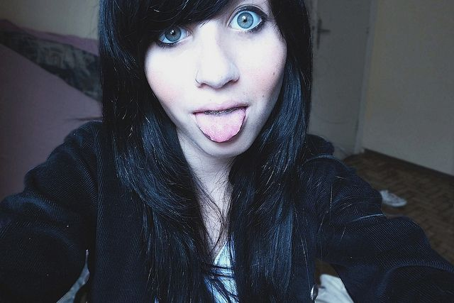 Pin By Jehna Lualhati On Emo Scene Style Shet Girls With Black
