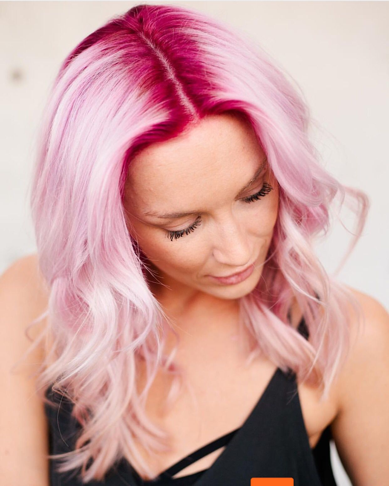 Deep Pink Shadow Base melting into Pastel Pink by ...