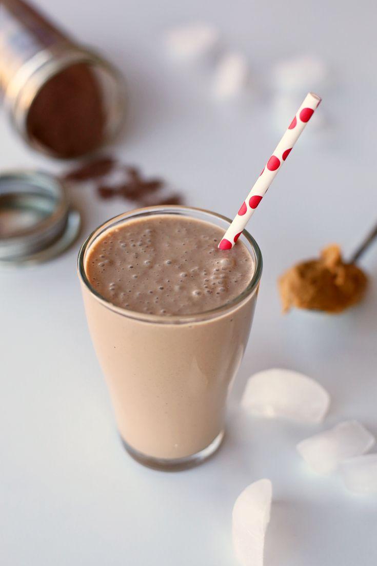 Chocolate peanut butter smoothie recipe chocolate