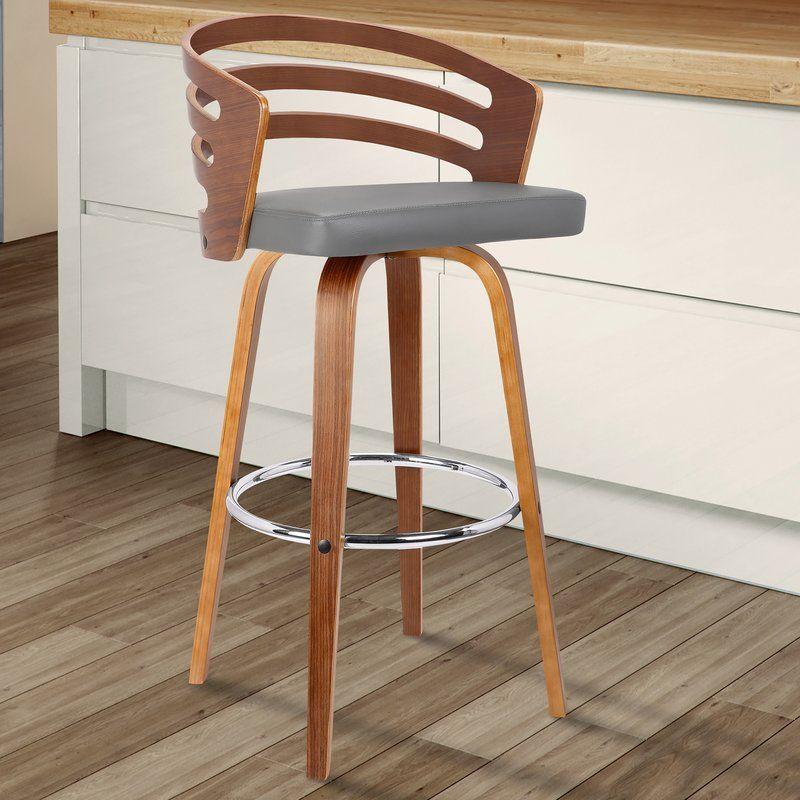Fabulous Wilkes Extra Tall Counter Swivel Stool Bar Chairs In Creativecarmelina Interior Chair Design Creativecarmelinacom