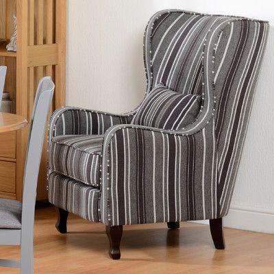 Home Loft Concept Sherborne Fireside Wingback Chair