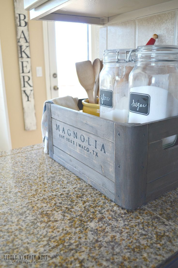 nice 5 Ways to Style a Wooden Crate - Little Vintage Nest by http ...
