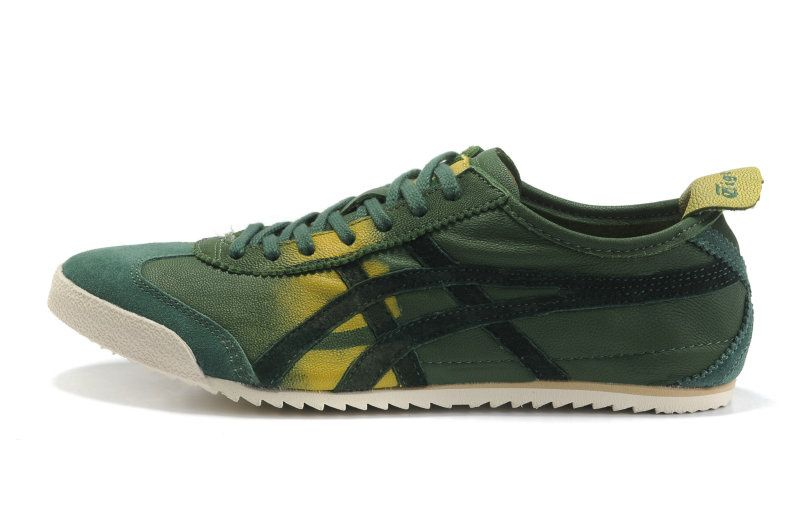 Buy Cheap Asics Sneakers Tiger Mexico 66 Deluxe Yellow/Grass Green