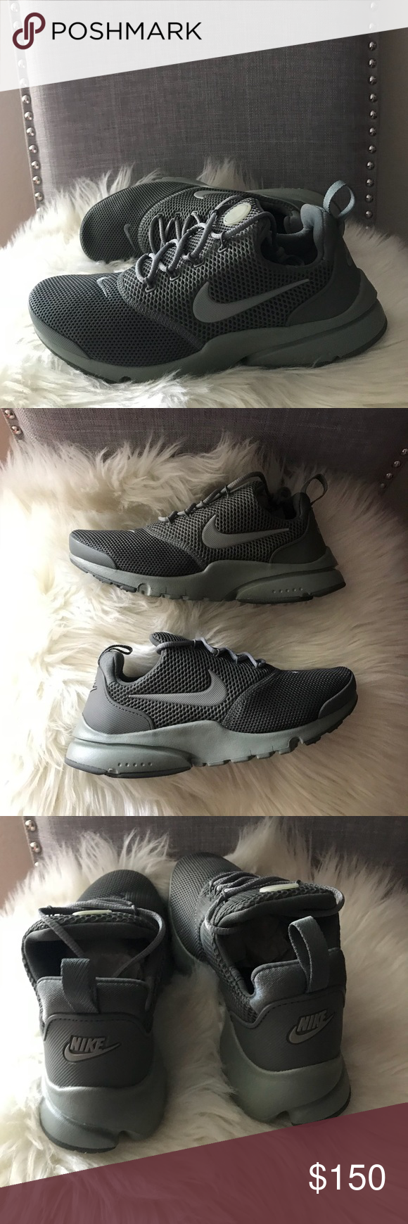 f5067caa0ab NIKE PRESTO FLY OLIVE GREEN WOMENS SHOES NWT Brand new without box. Size 6  youth