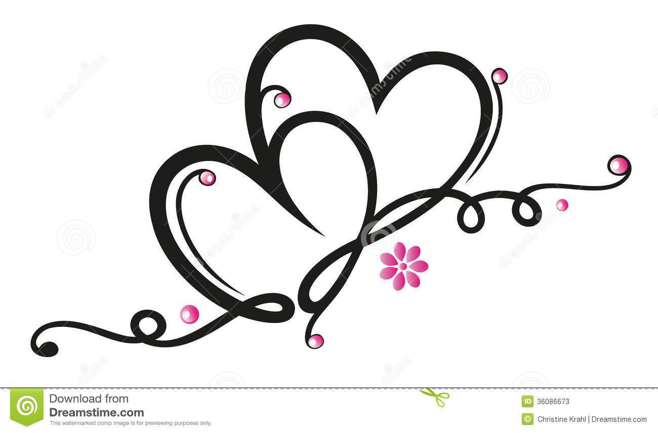 hearts filigree royalty free stock photography image 33937307 rh pinterest com free filigree designs clip art free filigree clip art patterns