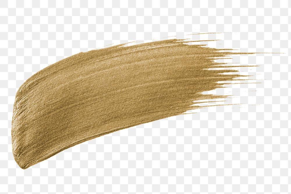 Festive Metallic Gold Paint Brush Stroke Free Image By Rawpixel Com Karn Metallic Gold Paint Gold Paint Paint Brushes