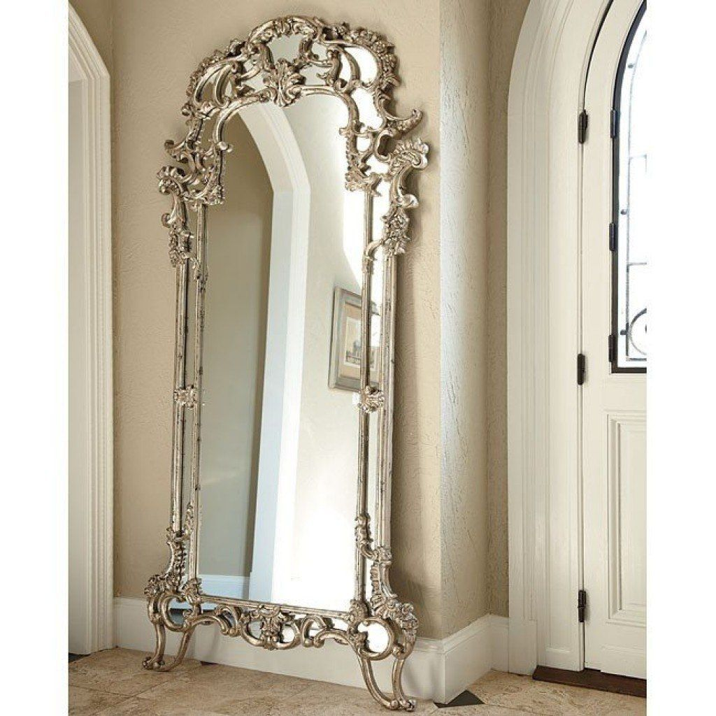 Giant Round Floor Mirror References