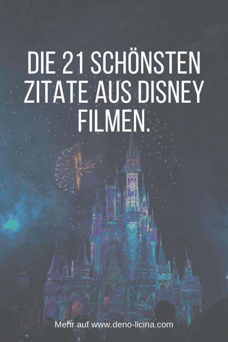 Die 21 schönsten Zitate aus Disney Filmen. Beziehung