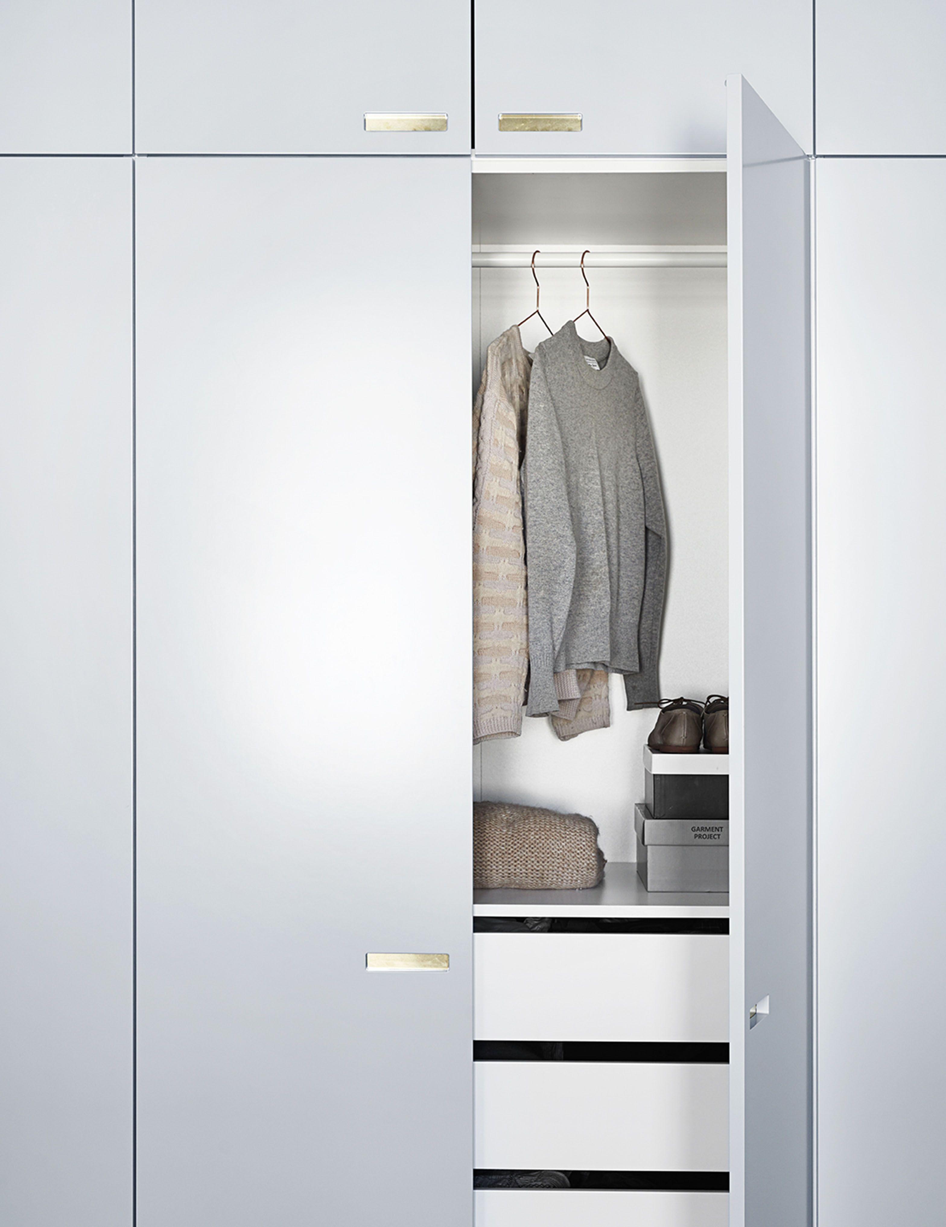 Ikea Hack Designer Skab Garderobe Skabslager Til Ikea Pax Painted