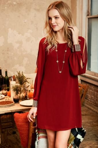 Milano Embellished Shift Dress