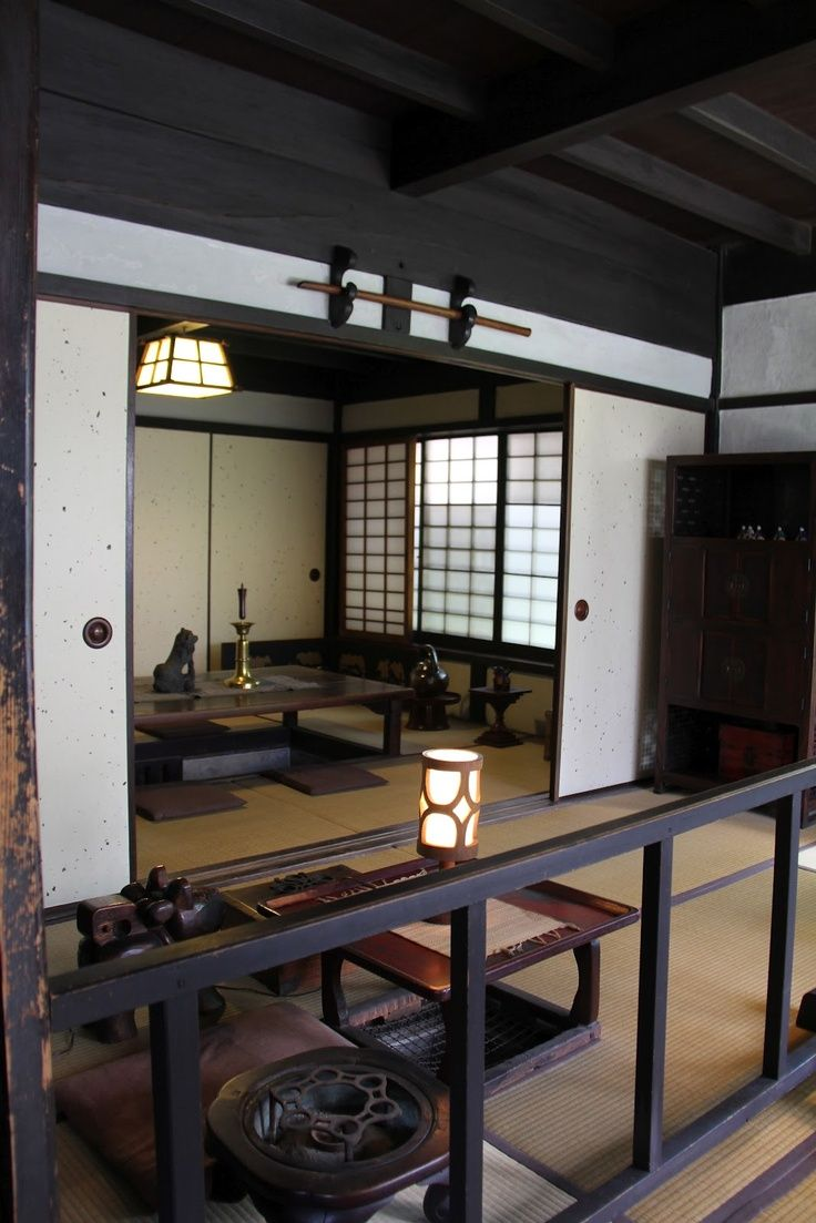 Japanese interior style retro japanese pinterest - Traditionelle japanische architektur ...