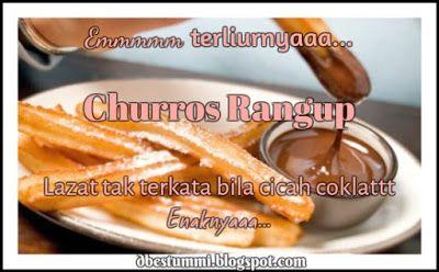 Resepi Churros Resepi Churros Mudah Dan Sedap Resepi Churros Gebu Resepi Churros Laura Recipe Churros With Chocolate Resepi Churros Churros Churros Recipe