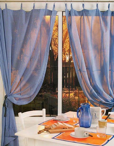 cortina para el comedor paso a paso