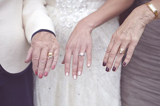 Three generations of love and marriage | photo by Natalie J Weddings