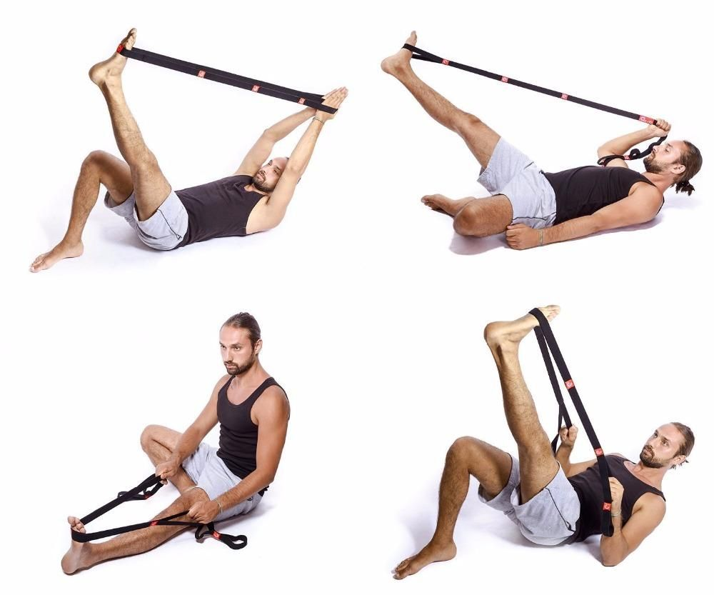 Yoga Stretch Strap Beginner Yoga Workout Yoga Stretches Yoga Benefits