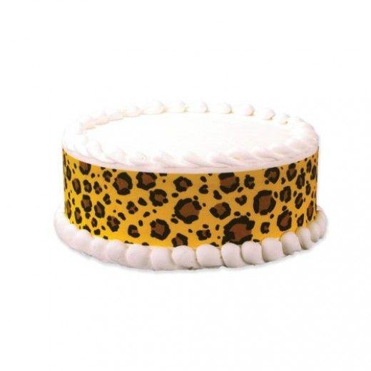 Leopard print birthday cake recipes