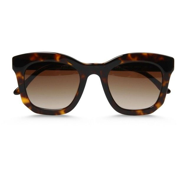 24eebcc953 Stella Mccartney Oversized Square Sunglasses ( 270) ❤ liked on Polyvore  featuring accessories